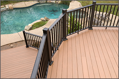 Maine decking and outdoor living spaces