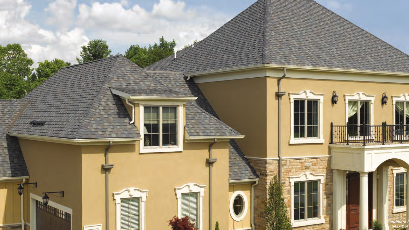 Landmark Premium Shingles Straight Line Roofing Siding